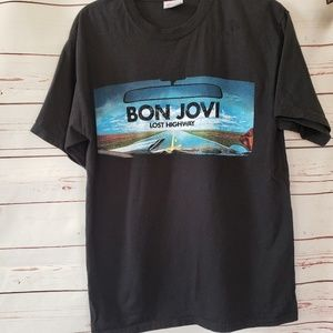 Bon Jovi Lost highway T shirt  medium concert